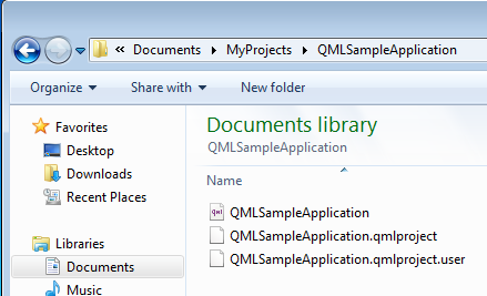 Creating your first Qt Quick Project