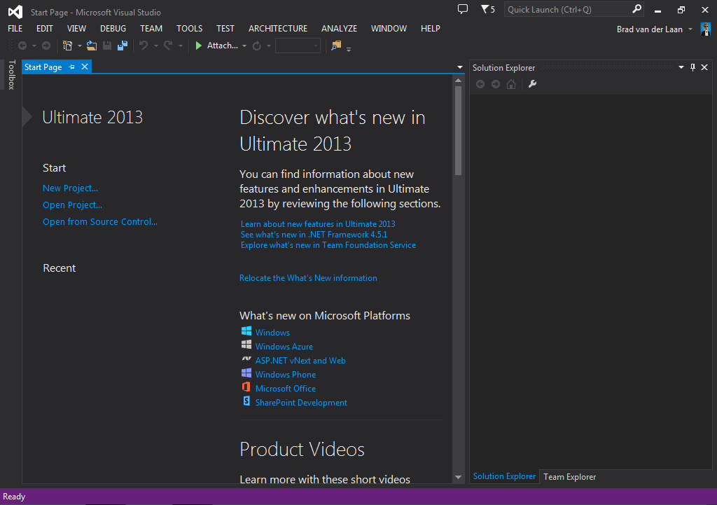 VisualStudio2013
