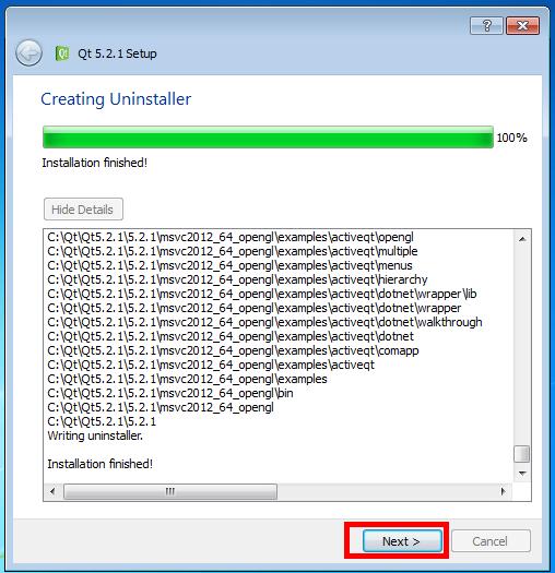 Installing Qt on Windows